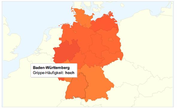 Grippetrends Deutschland